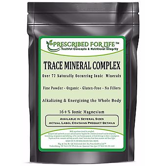 Ionisk Trace mineral Complex-over 72 naturligt forekommende ionisk alkalizing mineraler-16% ionisk mg