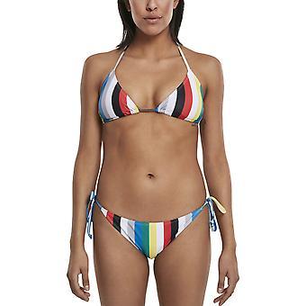 Urban Classics Ladies - STRIPE Swim Bikini multicolor