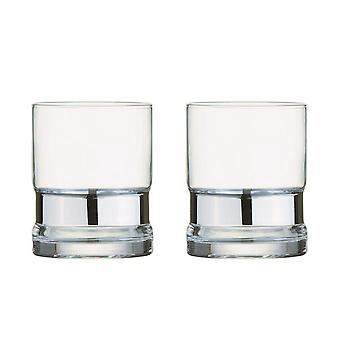 Anton Studio Soho Set of 2 Tumblers, Silver