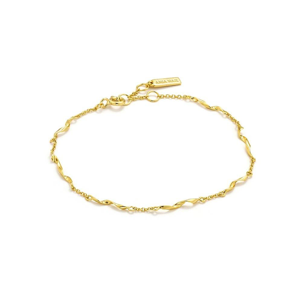 Ania Haie Gold Plated Sterling Silver 'Helix' Bracelet