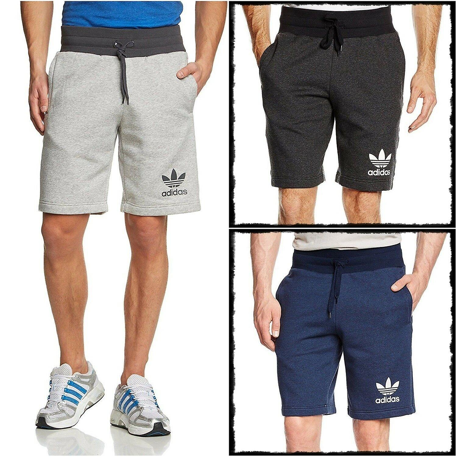 adidas fleece mens shorts