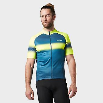 Nuova Altura Uomini's Airstream Cycling Short Sleeve Jersey Yellow