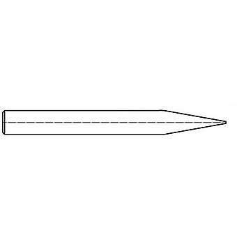 Weller T0054310500 soldeerpunt beitel vormig, rechte punt maat 6,3 mm inhoud 1 PC (s)