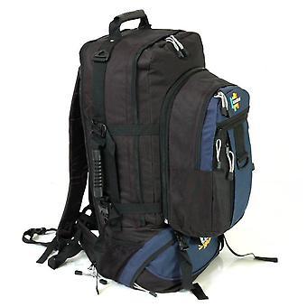 Karabar Globe Traveler 105 Litres Backpack, Black/Navy