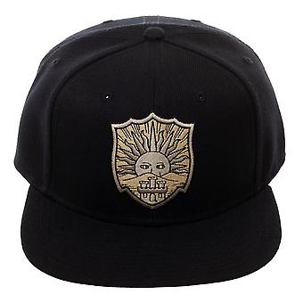 Baseball Cap - Black Clover - Crests Black Snapback New sb6vy4cru
