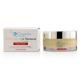 The Organic Pharmacy Rose Plus Age Renewal Face Cream 50ml/1.69oz