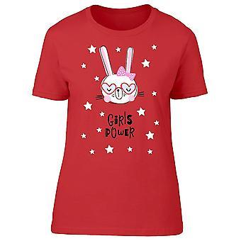 Bunny Girl Power Tee Women-apos;s -Image par Shutterstock