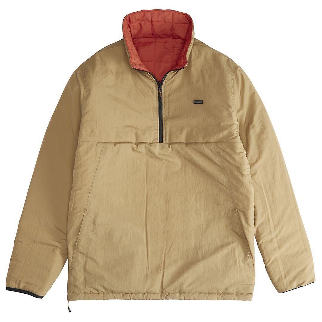 Billabong Men's Reversible Puffer Jacket ~ Boundary