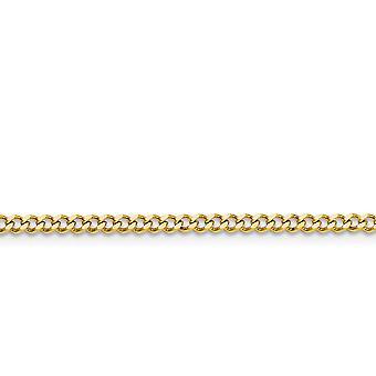 Acciaio inossidabile Ip oro lampeggiante polacco giallo IP placcato fantasia chiusura 3.0mm Curb chain collana gioielli gioielli