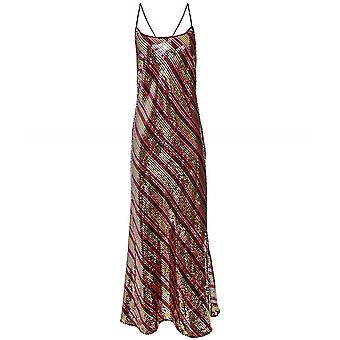 RIXO Sylvie Sequin Embellished Midi Dress
