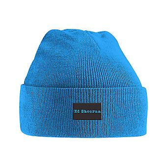 Ed Sheeran Beanie Hat Logo Divide new Official Blue