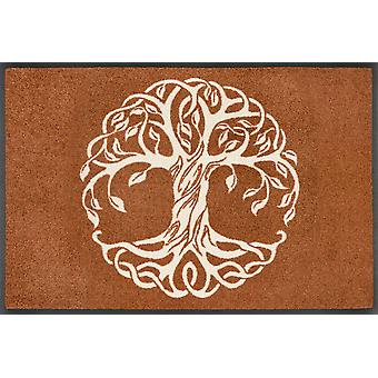 wash+dry doormat Tree of Life washable dirt mat mandala