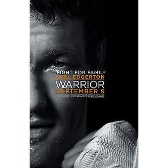 Warrior Poster Double Sided Regular Style B Joel Edgerton (2011) Original Cinema Poster