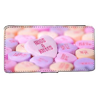iPhone 7/8Wallet Case candy-Huggs Kisses case Shell