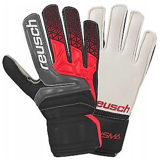 Reusch Prisma SD Mens Goalkeeper Goalie Glove Black/Red