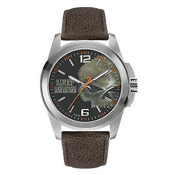 Harley Davidson 76A146 Men's Strap Wristwatch
