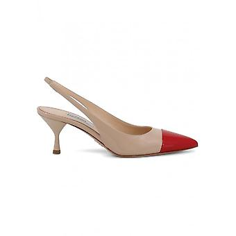Prada - Shoes - High Heels - 1I272L_F0RYS - Women - tan,red - 38