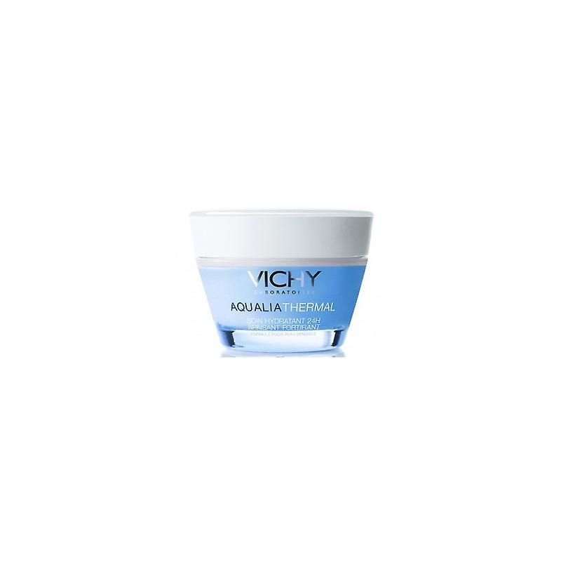 Vichy Aqualia Thermal Rica Hidratante 24h 50 Ml Tarro . Piel Sensible