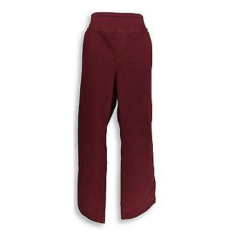 Belle by Kim Gravel Women's Petite Jeans 24 Flexibelle 5-Pkt Red A311352