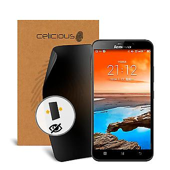 Celicious Privacy 2-Way Anti-Spy Filter Screen Protector Film Compatible with Lenovo A916