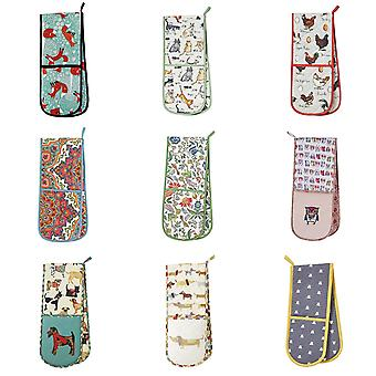 Ulster Weavers Oven Gloves & Mitts/Gauntlets For Home & Kitchen Padded & Heat Resistant 100% Cotton - Various Designs