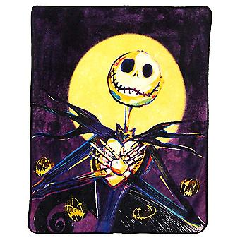 Super Soft Throws Nightmare Before Christmas Pumpkin Delight 45x60