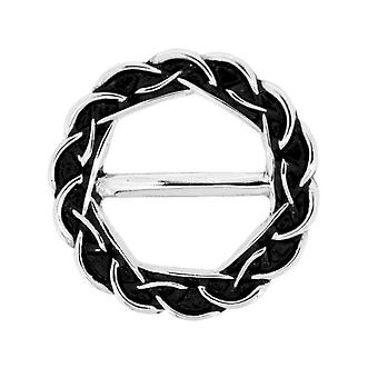 Celtic Eternity Knotwork Scarf Ring