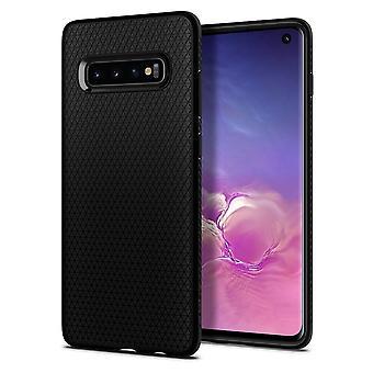 Hull For Samsung Galaxy S10 Liquid Air Black Mat