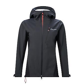 Berghaus Taboche Womens Windproof Waterproof Softshell Full Zip Jacket Coat Grey