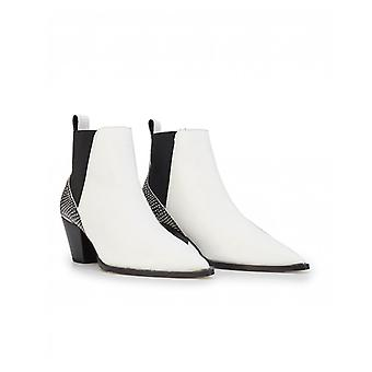 Ted Baker Rilanic Leather Pointed Ankle Boots