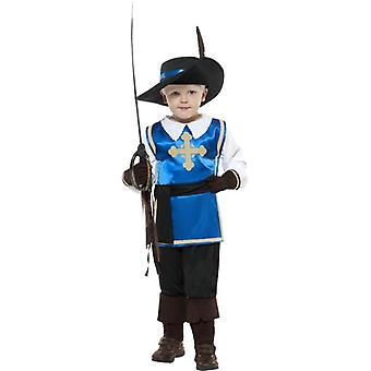 Musketeer Child Costume, Small Age 4-6