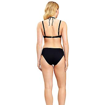 Féraud 3205014-10995 Women's Black Non-Padded Underwired Bikini Set