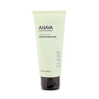 Ahava Time To Clear Purifying Mud Mask 100ml / 3.4oz