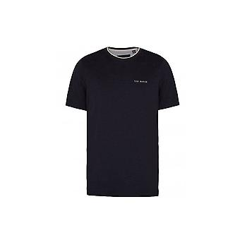 Ted Baker Mens Navy ROOMA t-skjorte
