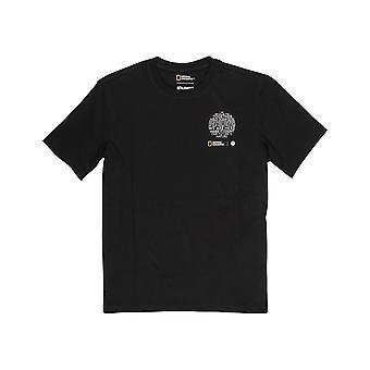 Element Sun Short Sleeve T-Shirt in Flint Black