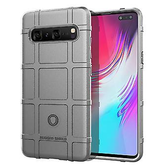 For Samsung Galaxy S10 5G Case, Shockproof Shield Light Armour Cover, Grey
