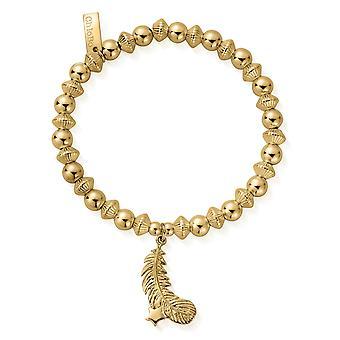 קלואה GBCD2568 נשים ' s צבע זהב המנחה צמיד אור