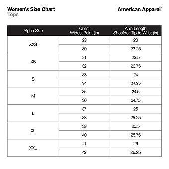 American Apparel Women's 50/50 Classic Crewneck Short Sleeve, Black, Size Medium