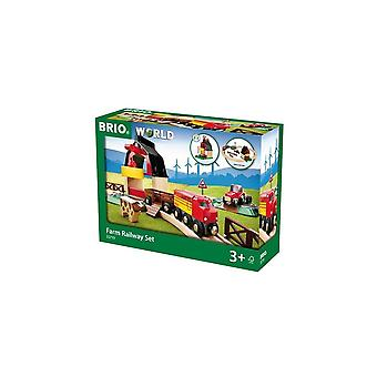 Brio 33719 Brio Farm Railway Set.