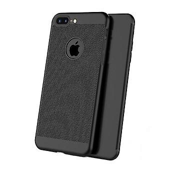 Stuff certificeret® iPhone 8 Plus-Ultra Slim case varmeafledning Cover CAS sag sort