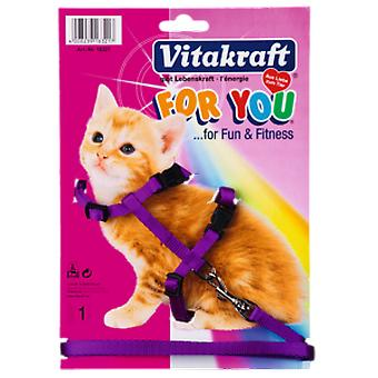 Vitakraft Belt and Harness for Smooth Cat