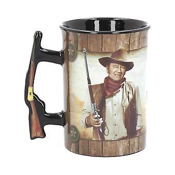 John Wayne A Man's Gotta Do 16oz Coffee Mug