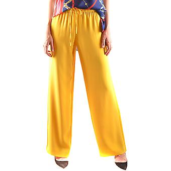 Red Valentino Ezbc026080 Women's Yellow Acetate Pants