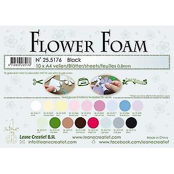 Leane Creatief Flower Foam Sheets A4 Black