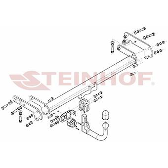 Steinhof Tow Bars And Hitches for EDGE 2014-2018