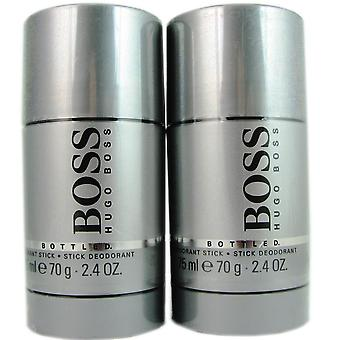 Boss # 6 män av Hugo boss 2,4 oz deodorant pinne (två)