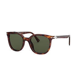 Persol PO3216S 24/31 Havana/Green Glasses