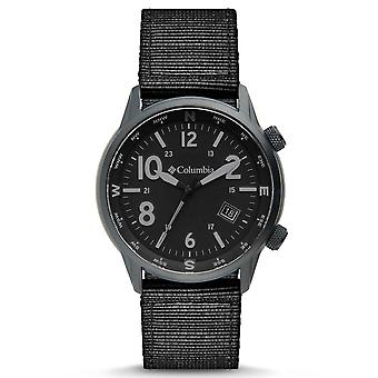 Columbia Outbacker Quartz Black Dial Black Nylon Strap Men's Watch CSC01-004