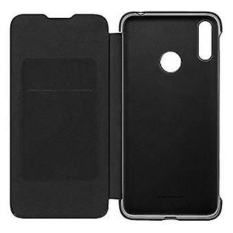Folio Mobiltelefon Fall Huawei Y7 2019 Svart