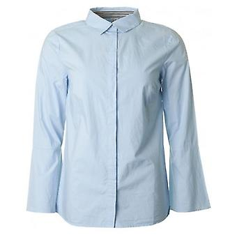 Saint Tropez Flared Sleeve Cotton Shirt